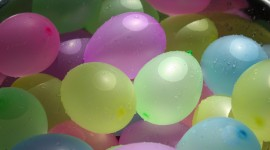 Water Balloon Desktop Wallpaper HD