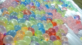 Water Balloon Wallpaper For IPhone Free