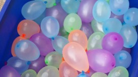 Water Balloon Wallpaper Full HD