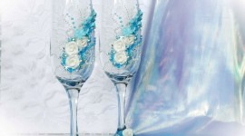 Wedding Glasses Wallpaper Free