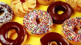4K Doughnuts Photo Free