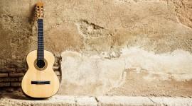 4K Guitar Desktop Wallpaper