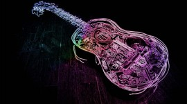 4K Guitar Image