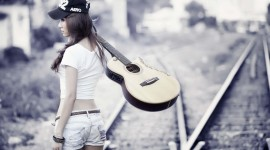 4K Guitar Photo