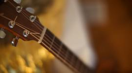 4K Guitar Photo Free