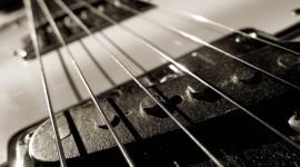 4K Guitar Wallpaper