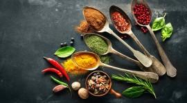 4K Kitchen Herbs Photo
