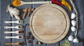 4K Kitchen Herbs Wallpaper