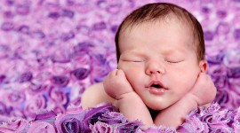 4K Sleeping Babies Desktop Wallpaper For PC