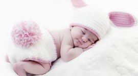 4K Sleeping Babies Photo