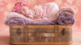 4K Sleeping Babies Photo Download