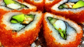 4K Sushi Wallpaper