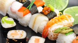 4K Sushi Wallpaper Download Free