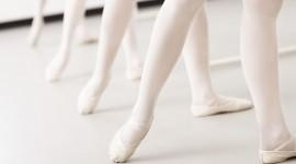 Ballerina Legs Desktop Wallpaper