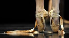 Ballerina Legs Wallpaper