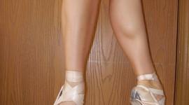 Ballerina Legs Wallpaper For Android#2