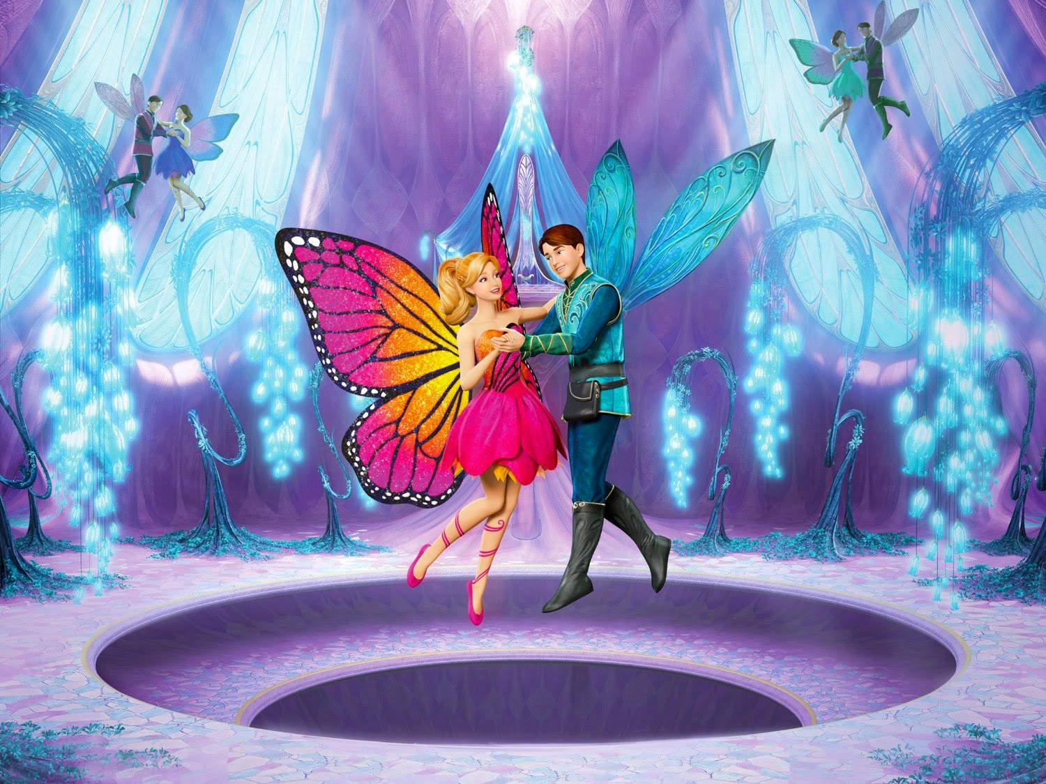 Barbie Mariposa The Fairy Princess Wallpapers High Quality