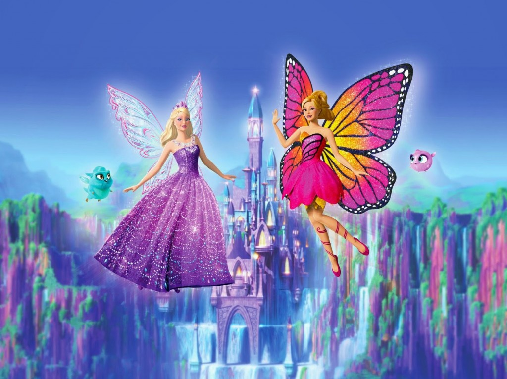 Barbie Mariposa The Princess Wallpapers Hd
