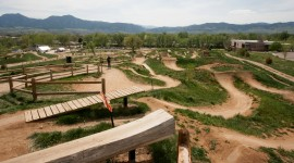 Bike Park Wallpaper Background