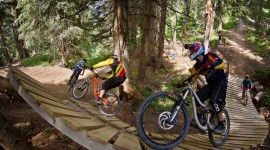 Bike Park Wallpaper High Definition