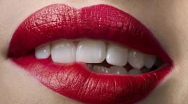 Bite Her Lip Photo Free