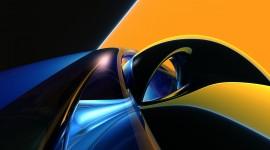 Black Yellow Desktop Wallpaper HQ
