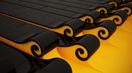 Black Yellow Wallpaper