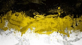 Black Yellow Wallpaper Background