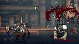 Bloody Zombies Desktop Wallpaper