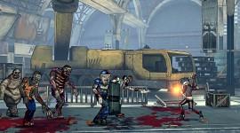 Bloody Zombies Desktop Wallpaper HD
