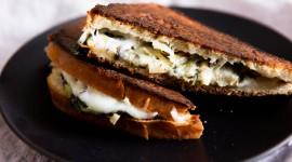 Cheese Sandwich Desktop Wallpaper