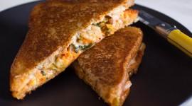 Cheese Sandwich Desktop Wallpaper HD