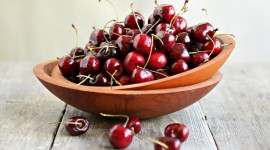 Cherries Desktop Wallpaper For PC