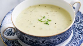 Cream Soup Wallpaper Download Free