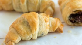 Croissants With Chocolate Wallpaper For IPhone
