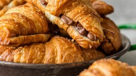 Croissants With Chocolate Wallpaper For IPhone Free
