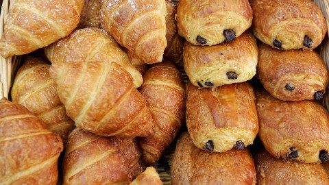 Croissants With Chocolate wallpapers high quality