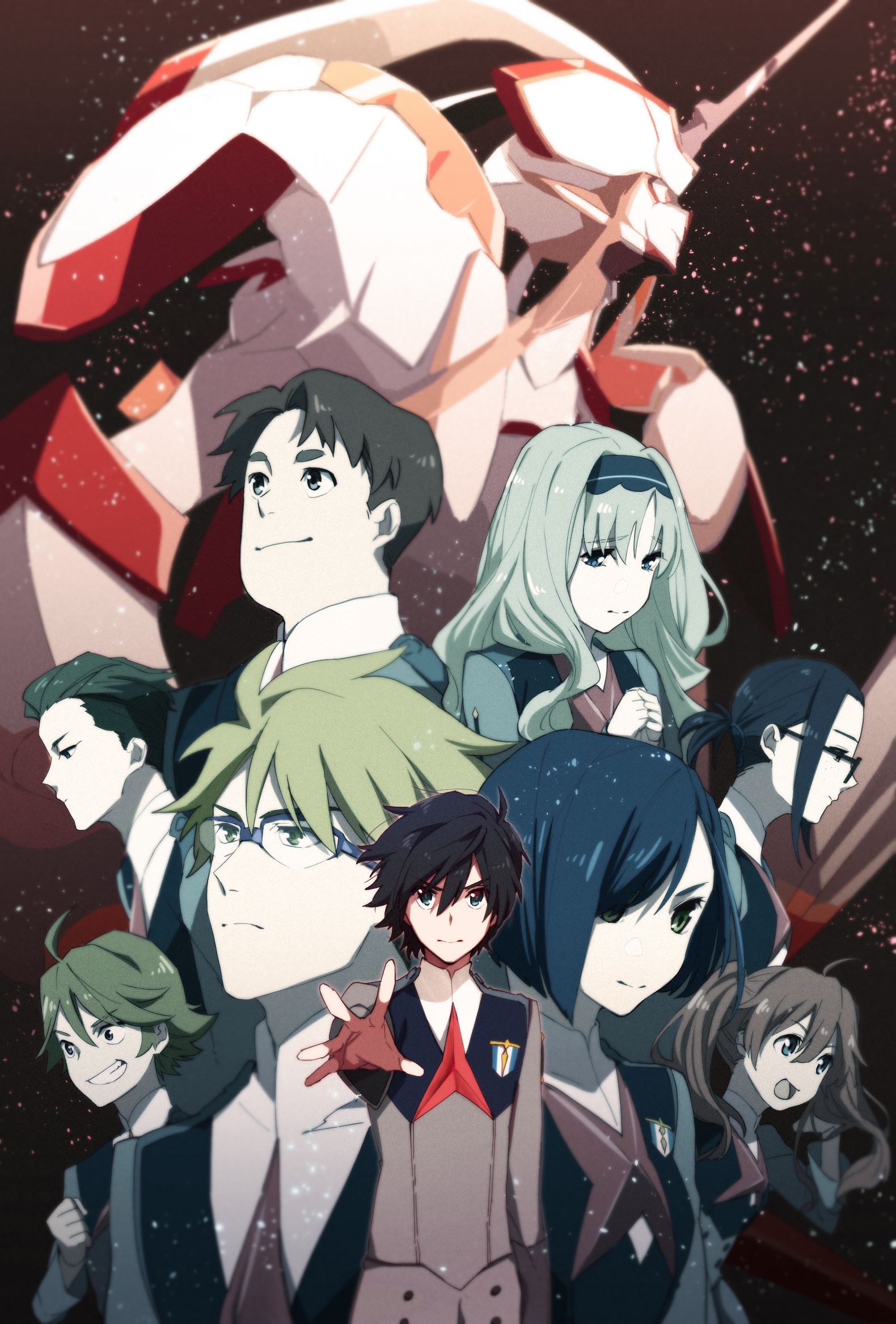 Darling In The FranXX Wallpapers High Quality | Download Free