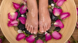 Foot Massage Desktop Wallpaper For PC