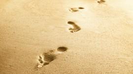 Footprints Of Jesus Christ Wallpaper 1080p