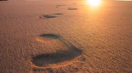 Footprints Of Jesus Christ Wallpaper Gallery