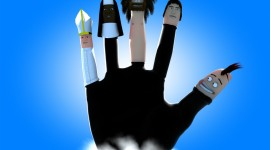 Funny Fingers Wallpaper For PC