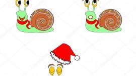 Funny Snails Wallpaper For Mobile#1