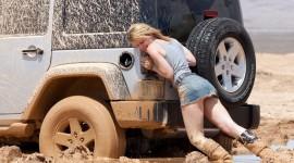Girls Driving Jeeps Best Wallpaper