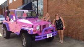 Girls Driving Jeeps Desktop Wallpaper HD