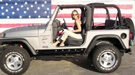 Girls Driving Jeeps Photo Free