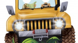 Girls Driving Jeeps Wallpaper For IPhone