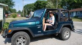 Girls Driving Jeeps Wallpaper HQ