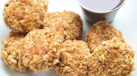 Homemade Chicken Nuggets Wallpaper Download