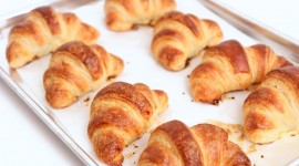 Homemade Croissants Wallpaper Background